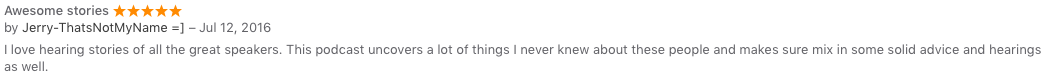 itunes review 2