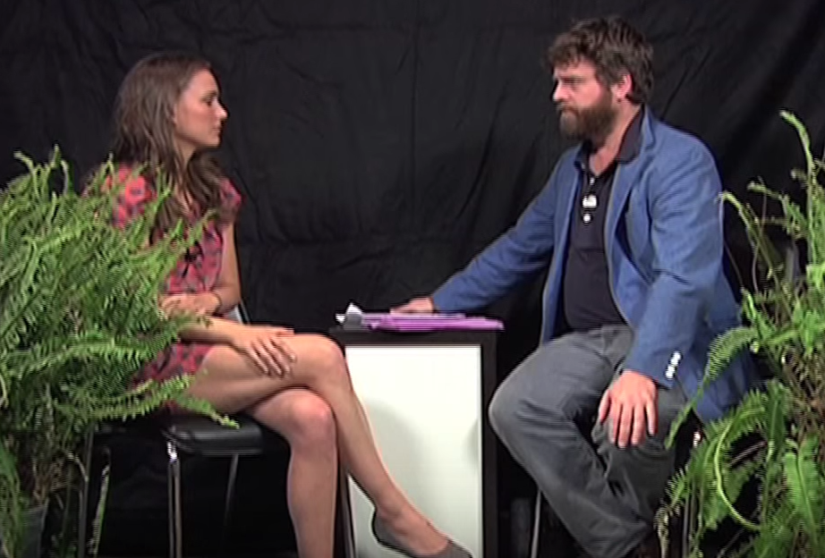 between two ferns video